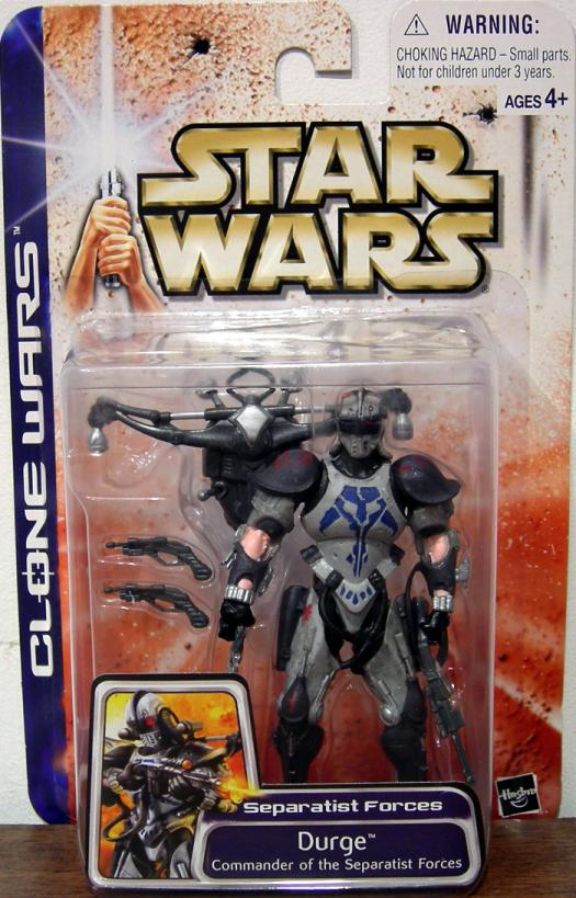 Durge Figure Commander Separatist Forces Clone Wars Star Wars