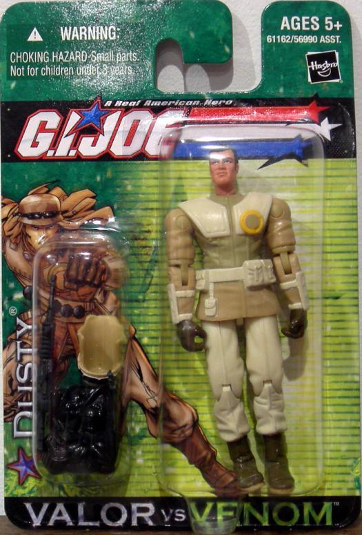 Dusty Figure GI Joe Valor vs Venom