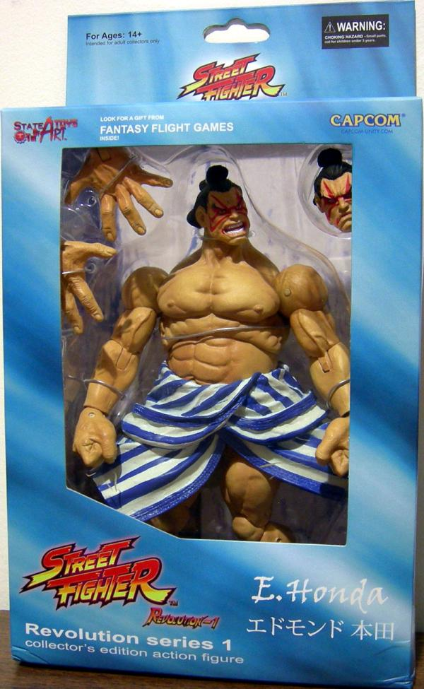 E Honda Figure Street Fighter Revolution Series 1 Sota