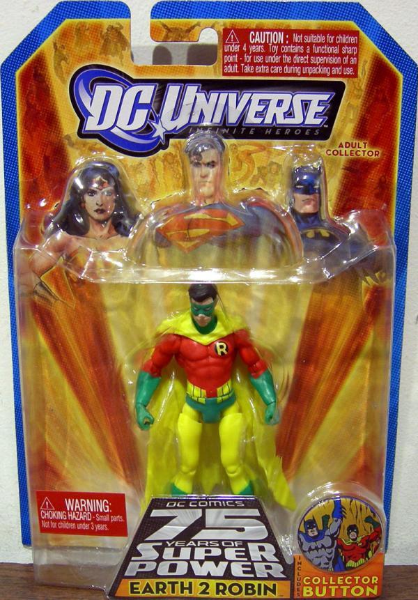 Earth 2 Robin Infinite Heroes, 75th Anniversary