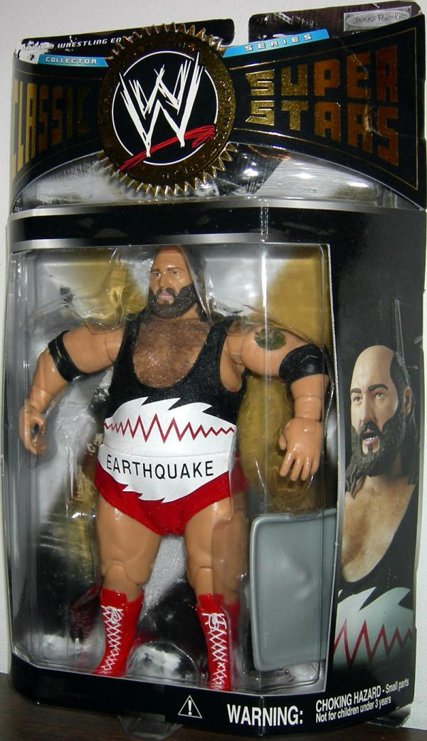 Earthquake real hair