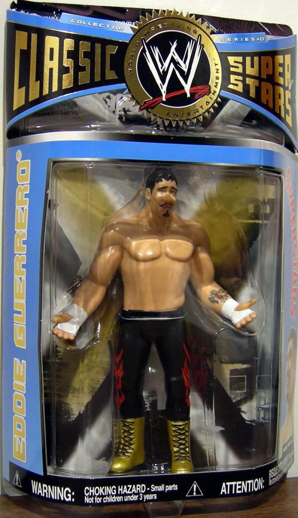 Eddie Guerrero Figure WWE Classic Super Stars Series 22