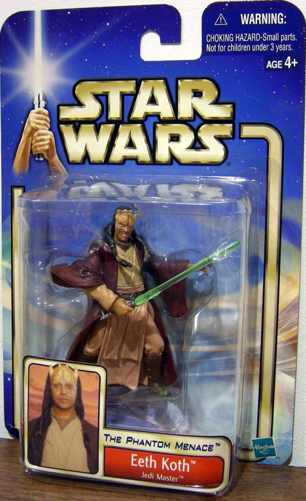 Eeth Koth Figure Jedi Master Star Wars Phantom Menace