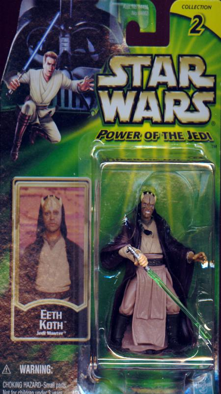 Eeth Koth Figure Power Jedi Collection 2 Star Wars
