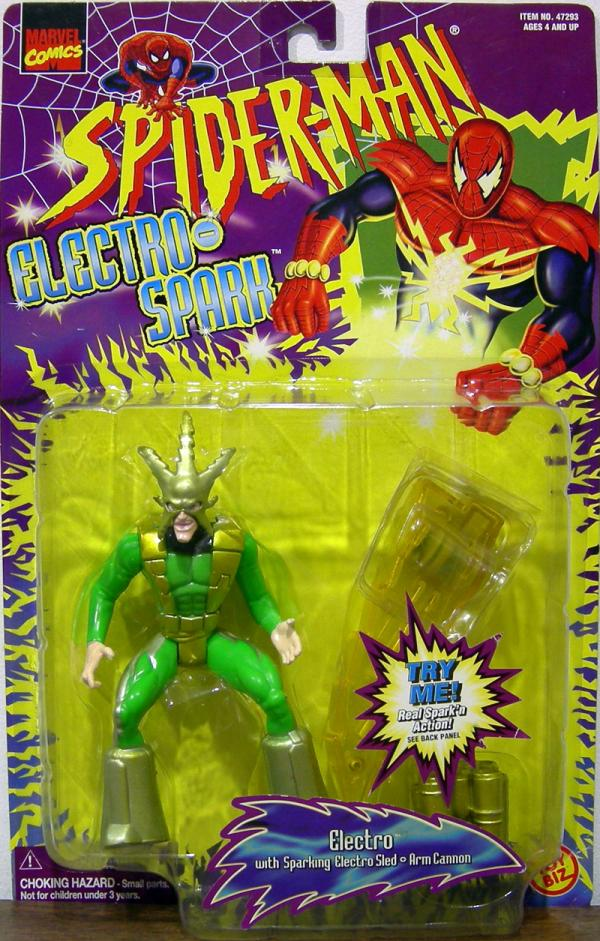 Spider-Man Electro Electro-Spark Gold Highlights action figure