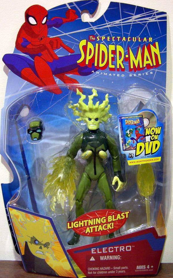 Electro Figure Spectacular Spider-Man Animated Series