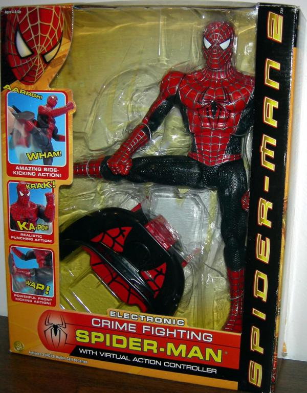 12 inch Electronic Crime Fighting Spider-Man 2