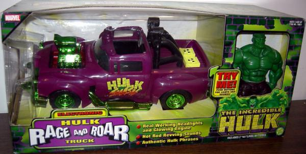 Electronic Hulk Rage and Roar Truck Toy Biz