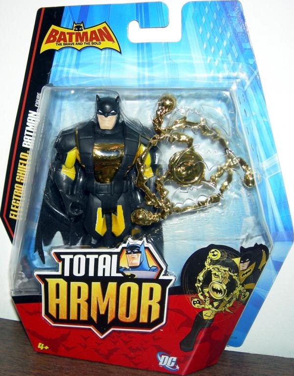 Electro Shield Batman Total Armor