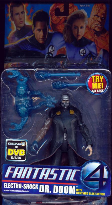 Electro-Shock Dr Doom Fantastic 4 Four Movie action figure