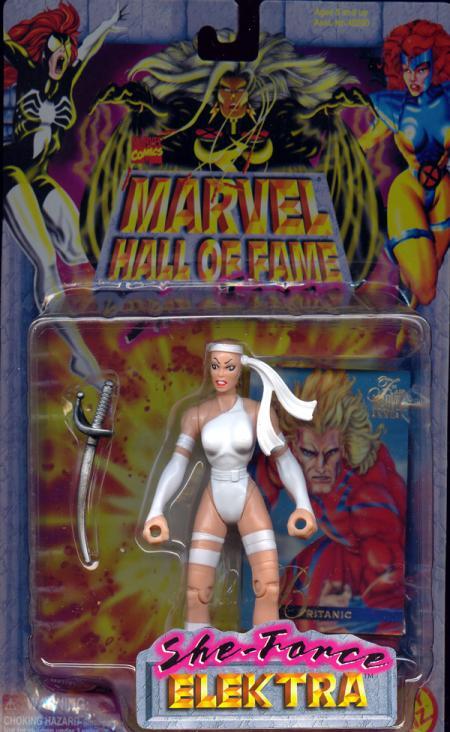 Elektra She-Force, white costume