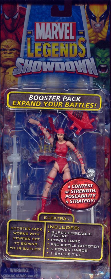 Elektra Marvel Legends Showdown
