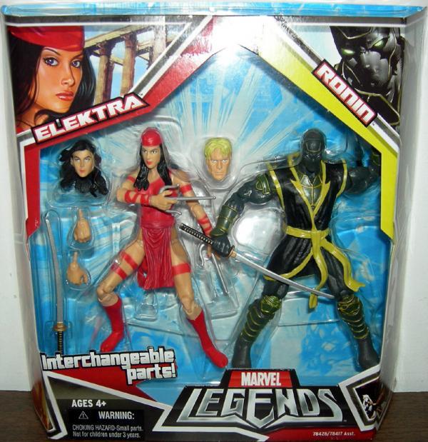 Elektra Ronin Marvel Legends action figures