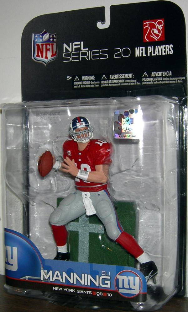 Eli Manning 3 variant, series 20