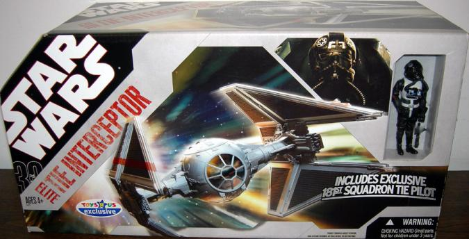 Elite TIE Interceptor 30th Anniversary vehicle