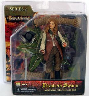 Elizabeth Swann Dead Mans Chest Serie 2 Pirates Caribbean action figure