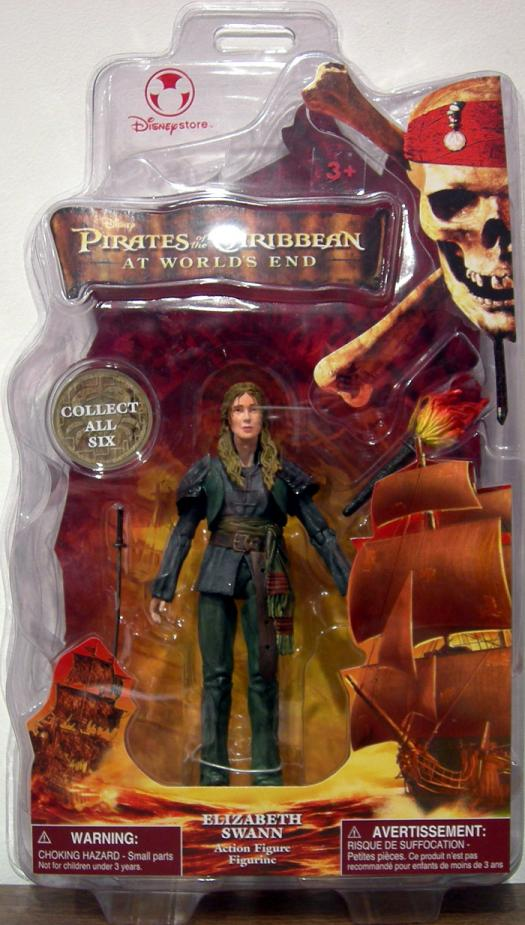 Elizabeth Swann Figure Worlds End Disney Store Exclusive