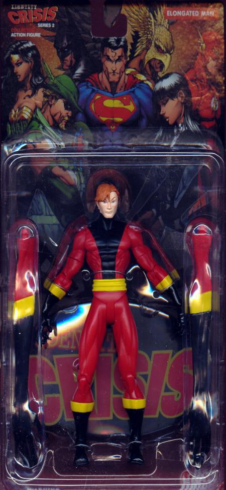 Elongated Man Action Figure Identity Crisis Series 2 DC Direct