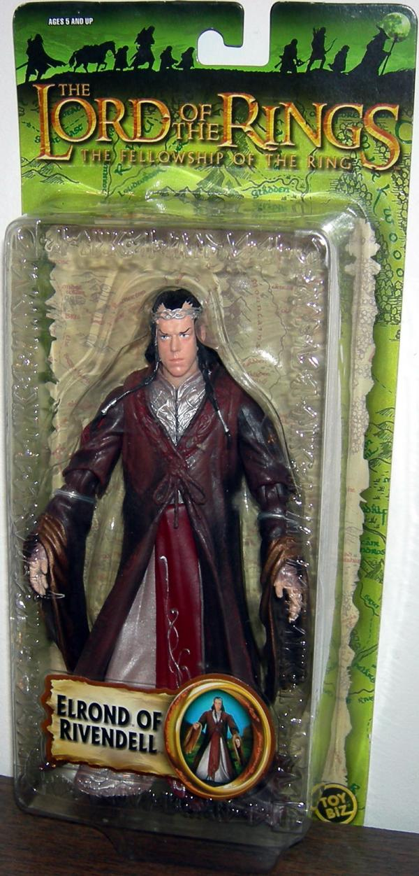 Elrond Rivendell Figure Lord Rings Trilogy Toy Biz
