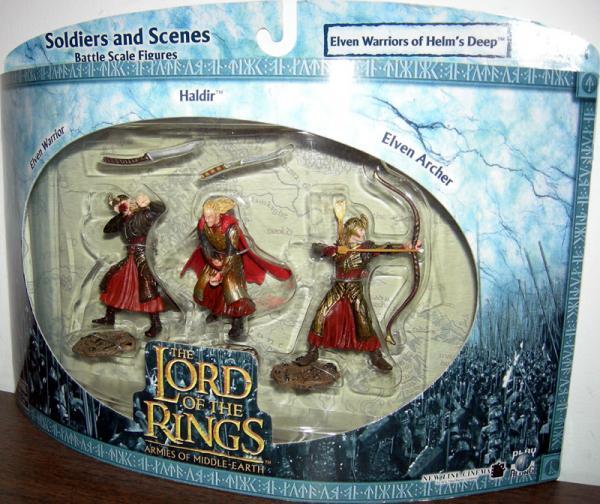 Elven Warriors Helms Deep Battle Scale