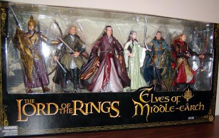 Elves Middle-earth Figures Lord Rings Toy Biz