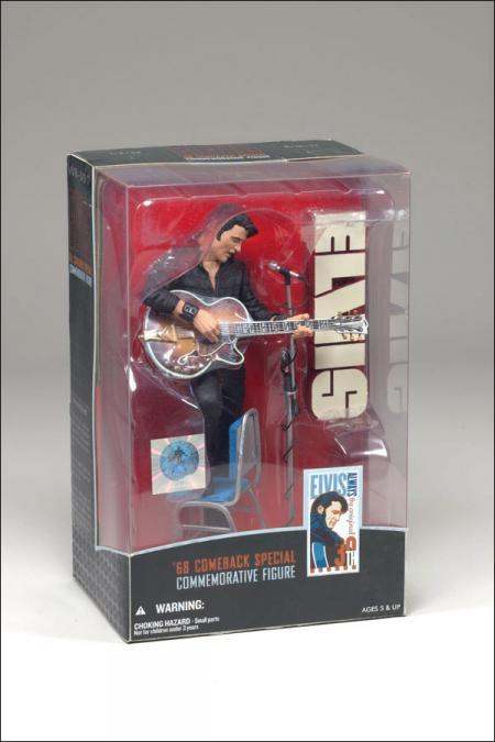 Elvis 68 Comeback Special Boxed Commemorative action figure
