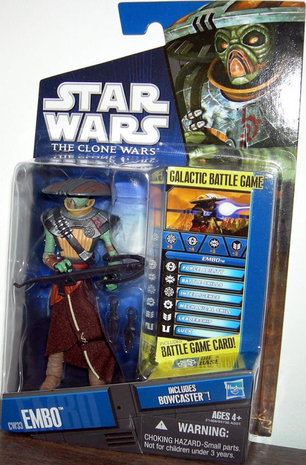 Embo Action Figure CW33 Star Wars Clone Hasbro