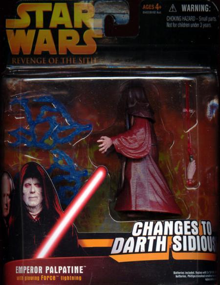 Emperor Palpatine deluxe, Revenge Sith