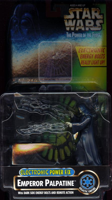 Emperor Palpatine Action Figure Electronic Power FX