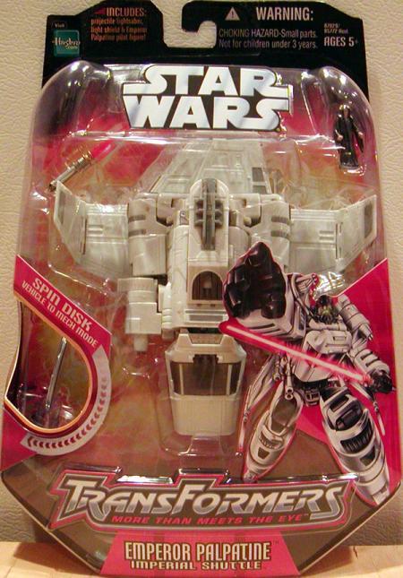 Emperor Palpatine Transformers