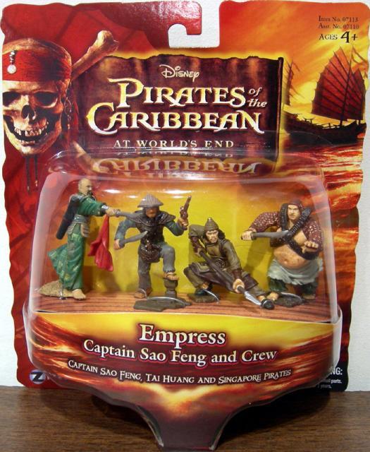 Empress Figures Captain Sao Feng Crew Tai Huang 2 Singapore Pirates