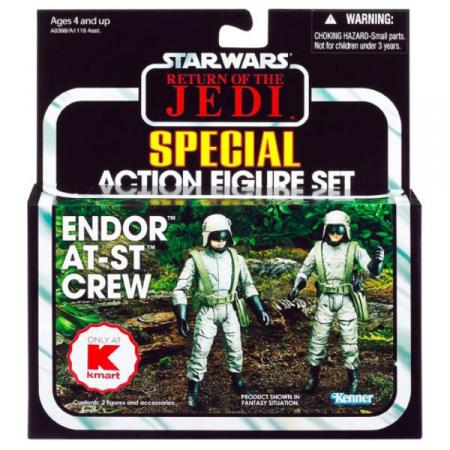 Endor AT-ST Crew Star Wars 2-Pack Kmart Exclusive action figures