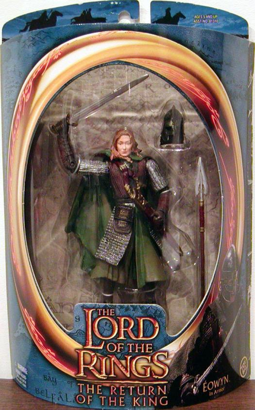 Eowyn Figure Armor Lord Rings Return King Toy Biz