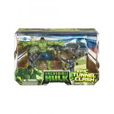 The Incredible Hulk Epic Tunnel Clash Battle Pack Hasbro