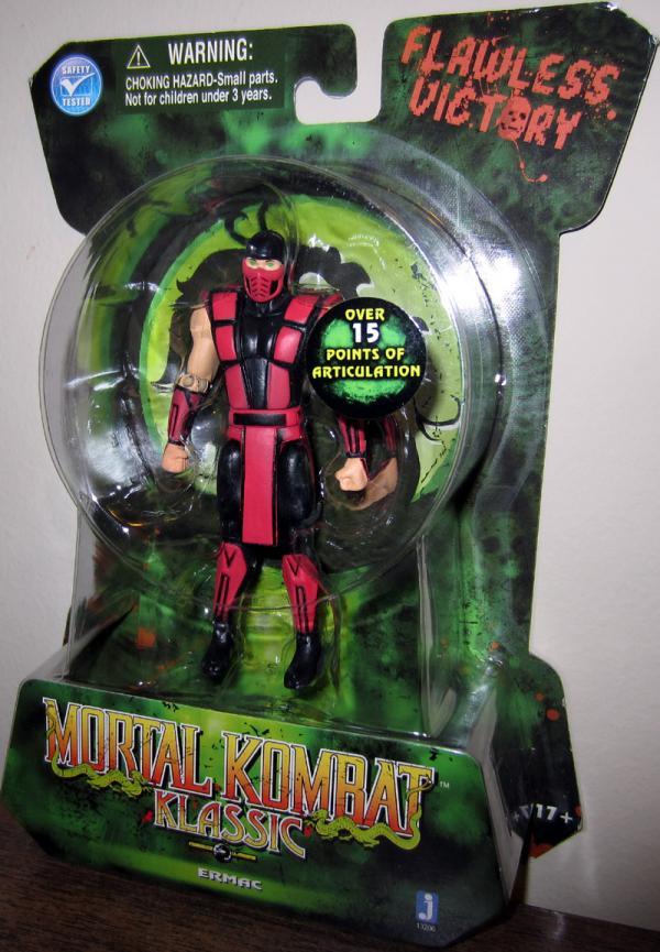 Ermac Action Figure Mortal Kombat Klassic Jazwares