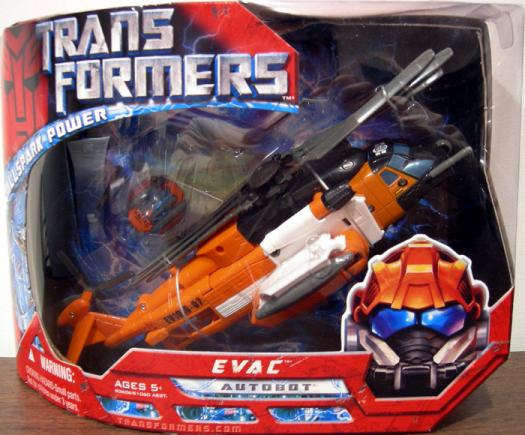 Evac Movie Voyager Action Figure Transformers Hasbro