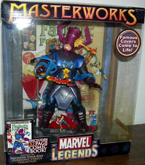 Everyone Versus Galactus Marvel Legends Masterworks Action Figures