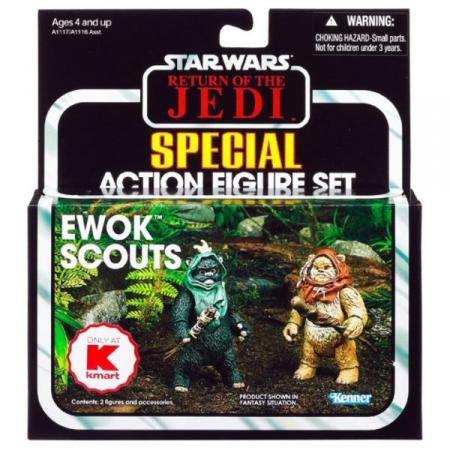Ewok Scouts 2-Pack Kmart Exclusive Star Wars action figures