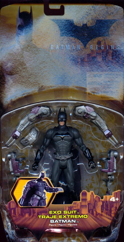 Exo Suit Batman Batman Begins