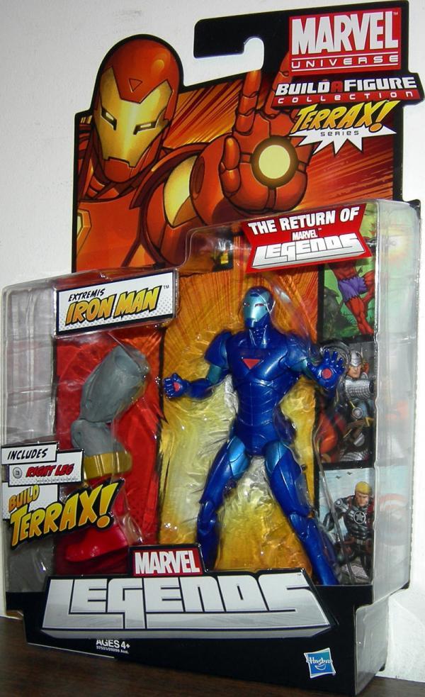 Extremis Iron Man Variant Marvel Legends, Terrax Series