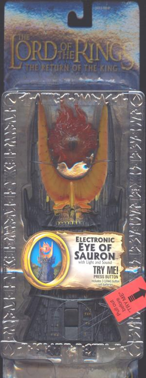 Electronic Eye Sauron Lord Rings Trilogy action figure