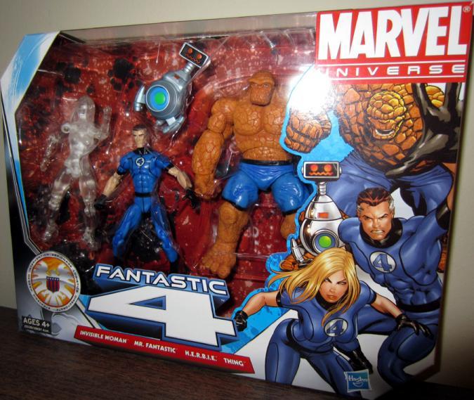 Fantastic 4 Four Marvel Universe action figures