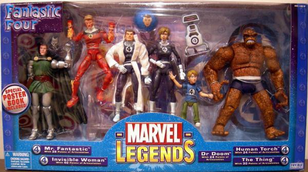 Fantastic Four 7-Pack Marvel Legends action figures