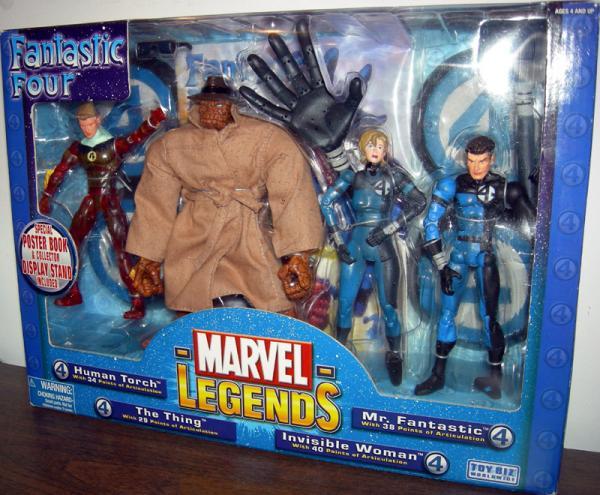 Fantastic Four 4-Pack Marvel Legends