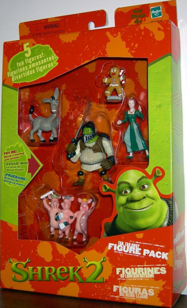 Far Far Away Figure Pack 3 Little Pigs