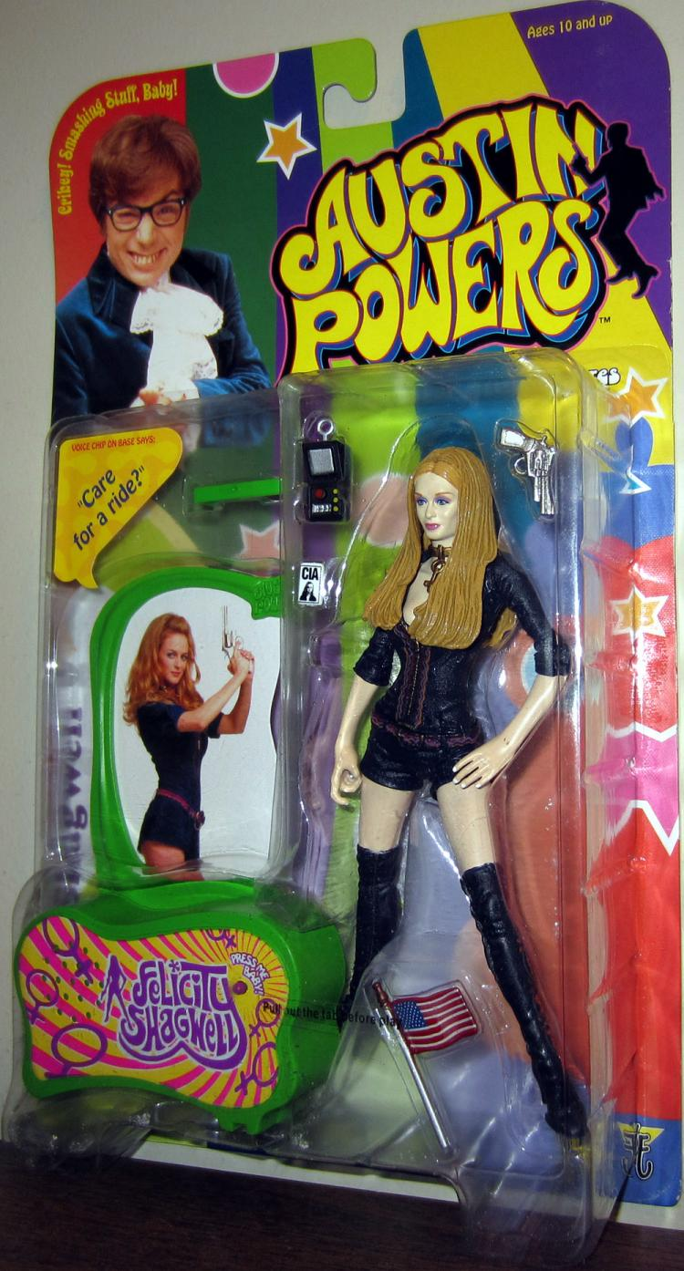 Felicity Shagwell Action Figure Austin Powers McFarlane Toys