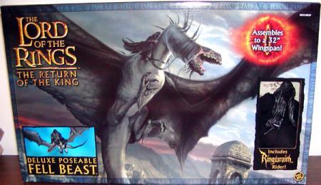 Fell Beast Ringwraith Rider Figure Lord Rings Return King
