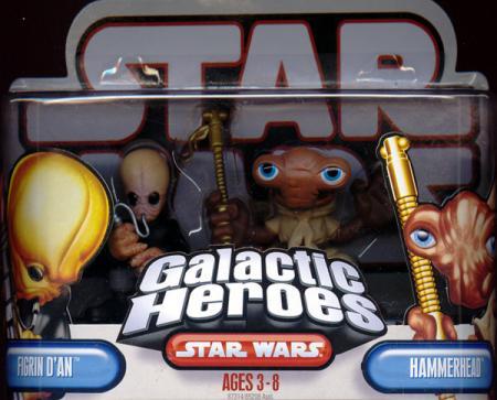 Figrin Dan Hammerhead Galactic Heroes
