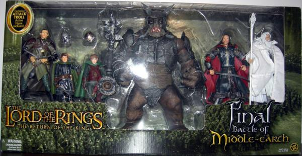 Final Battle Middle-earth Figures Lord Rings Return King