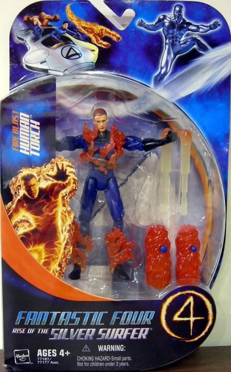 Fire Blast Human Torch Action Figure Rise of the Silver Surfer Movie